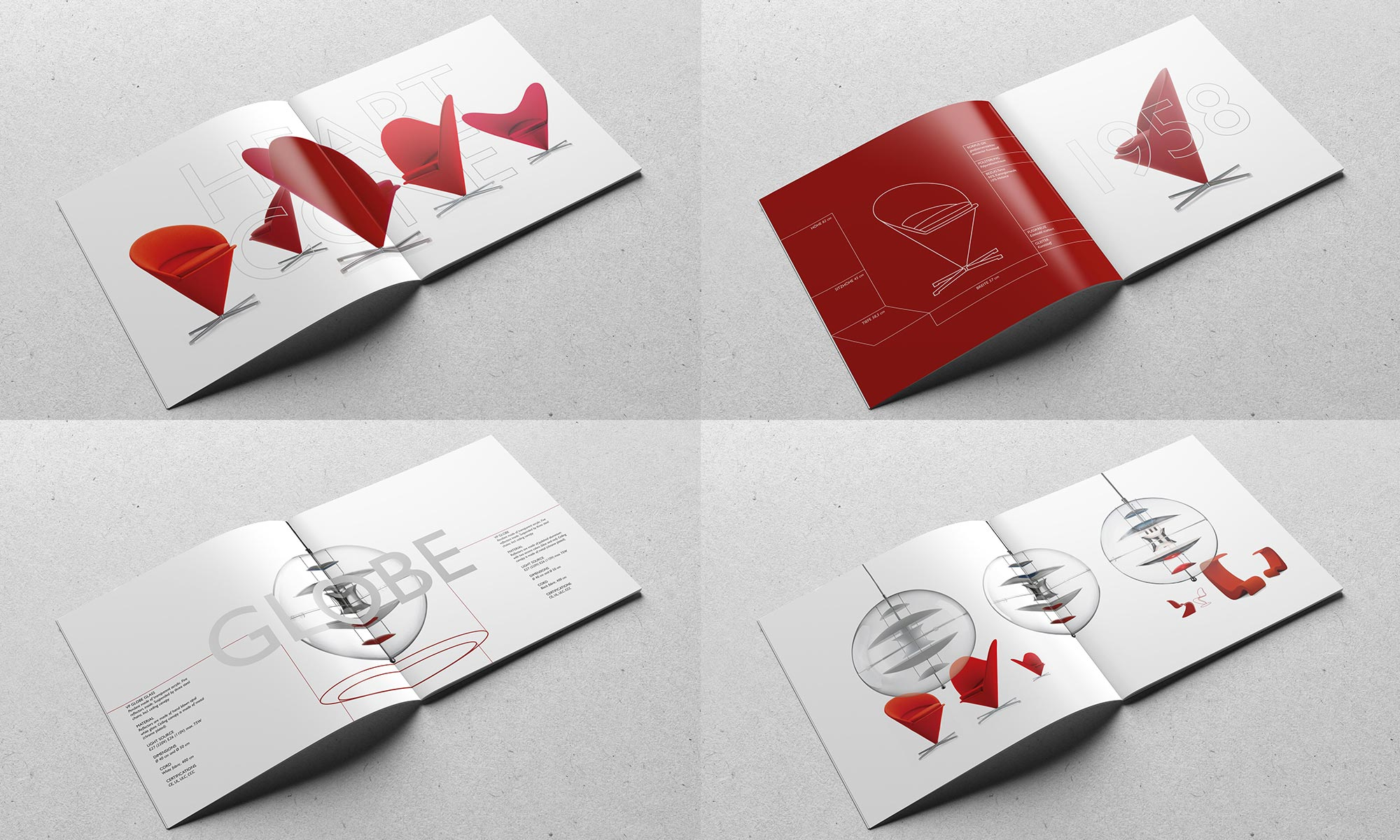 Möbeldesign Katalog Verner Panton Chairs