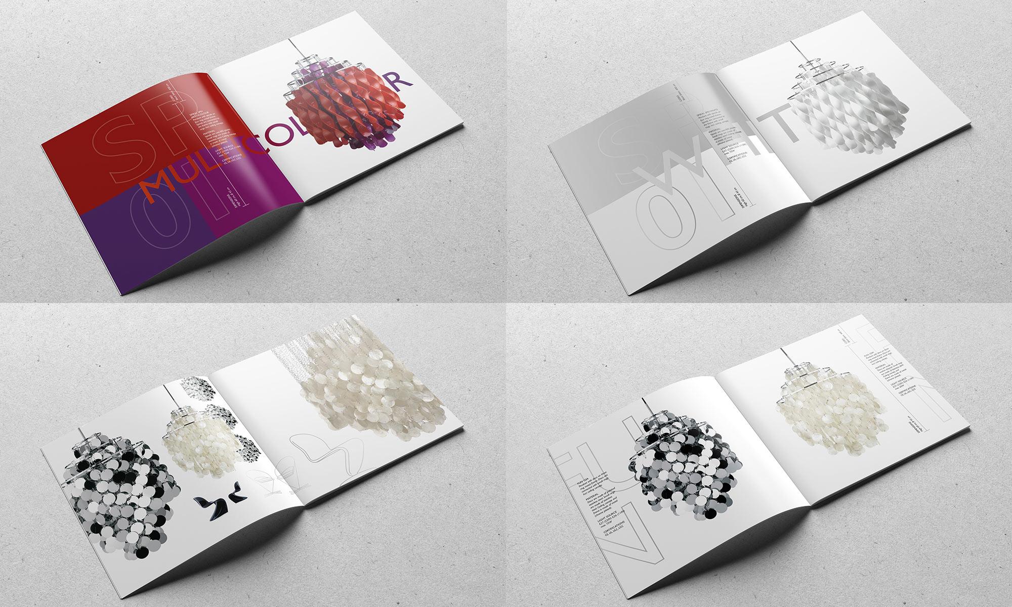 Möbeldesign Katalog Verner Panton Lamps
