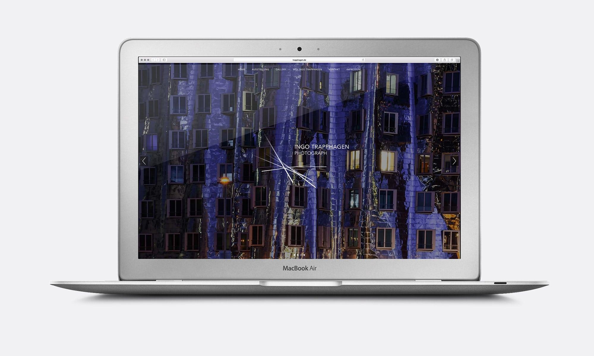 Corporate Design Photograph Website
