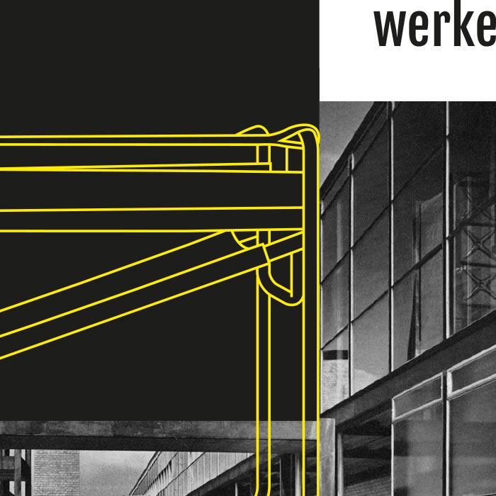 Bauhaus Architektur Plakat Zeitung