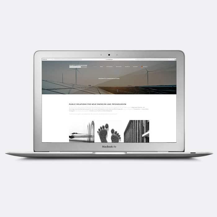 PR-Agentur-Website