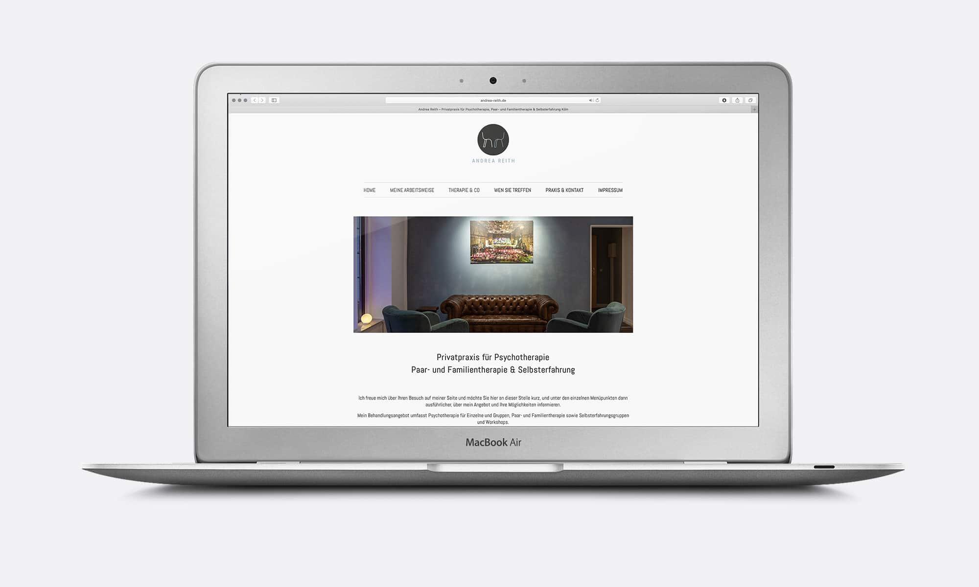 Psychotherapie Webseiten Design