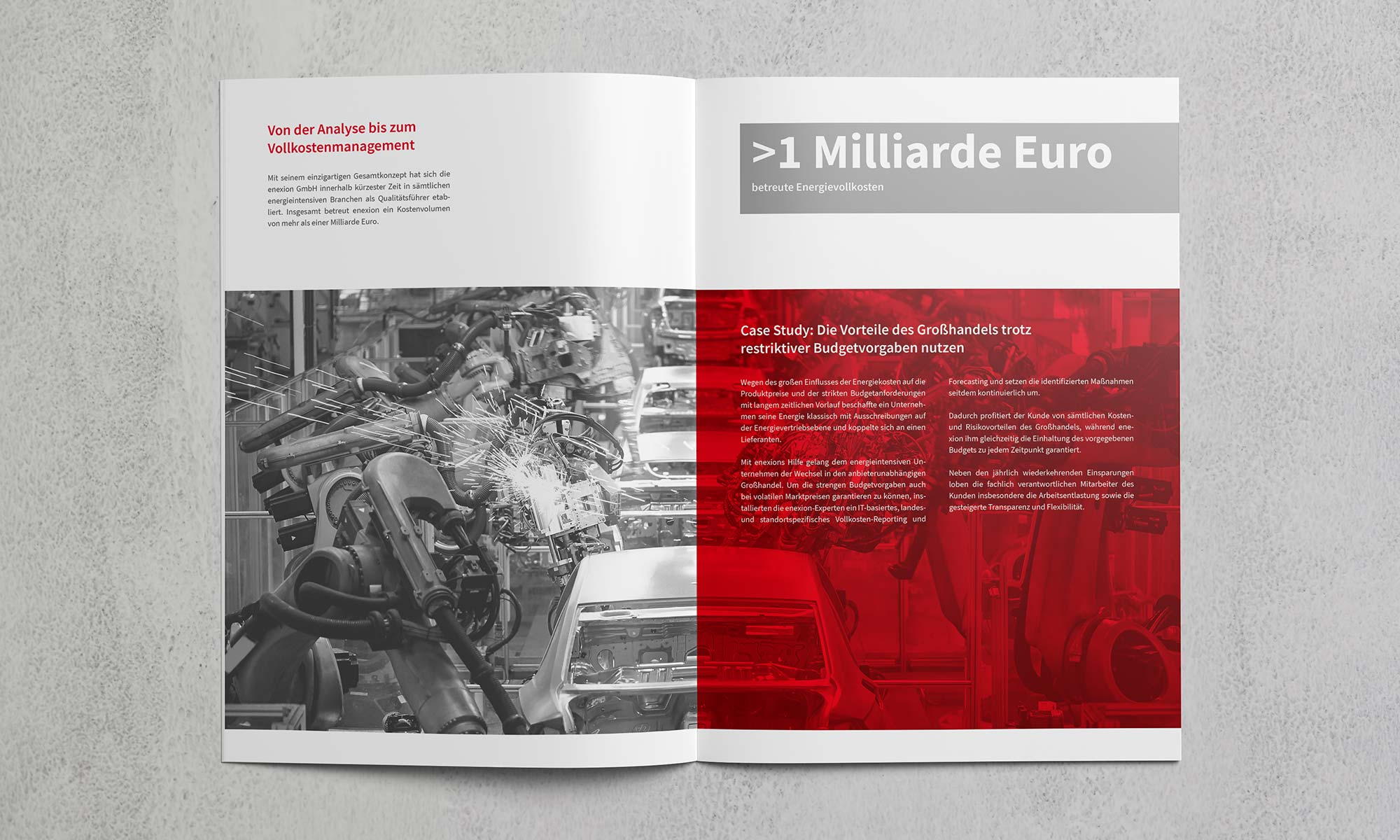 Broschüre Energiemarkt Innenseiten